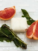 All-Natural Grapefruit Mint Leaves Shampoo Bar